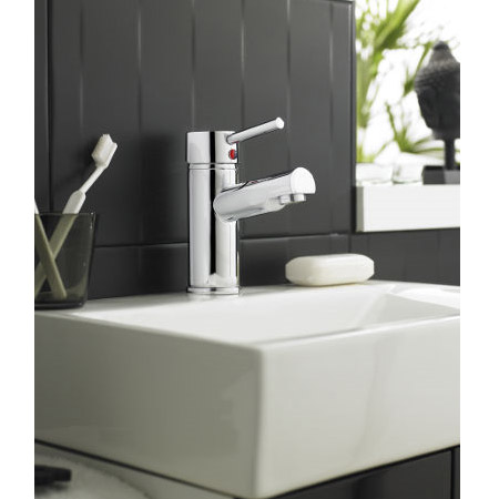 Ultra Quest Series FII Mono Basin Mixer Inc. Waste - FTY355 profile large image view 2