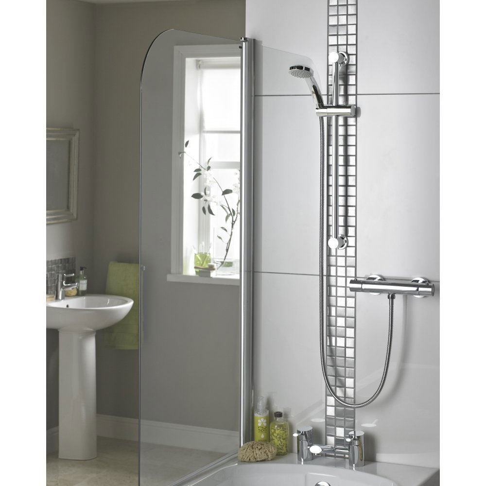 Bristan Frenzy Cool Touch Thermostatic Bar Valve w/ Riser & Multifunction Handset (FZ-SHXVOCTFF-C) Feature Large Image