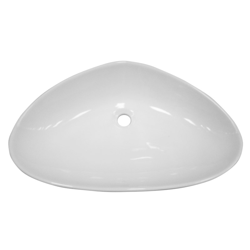 Fiesta Counter Top Basin 0TH - 650 x 430mm profile large image view 2