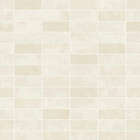 Fine Decor Cream Ceramica Stone Tile Wallpaper