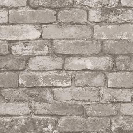Fine Decor Distinctive Cream Rustic Brick Wallpaper