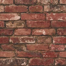 Fine Decor Distinctive Red Rustic Brick Wallpaper Medium Image