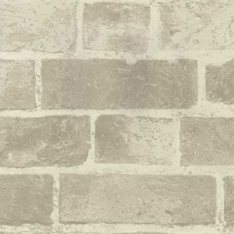 Fine Decor Distinctive Cream Brick Wallpaper