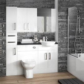 Bathroom Furniture Designer Units Storage Victorian Plumbing