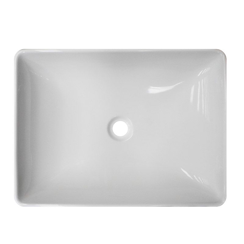 Florence Large Counter Top Basin 0TH - 600 x 450mm profile large image view 2