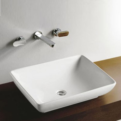 Florence Large Counter Top Basin 0TH - 600 x 450mm profile large image view 1