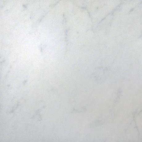 Florence Marbled White Floor Tile (Matt - 450 x 450mm)
