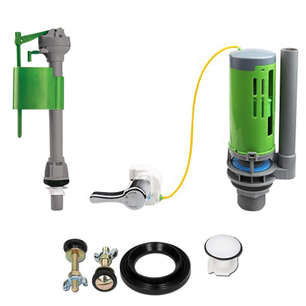 FlushKING - Complete Repair Pack 5 - Dual Flush Lever - Standard Fill valve - FK-SF-FL Large Image