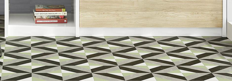 Formation Porcelain Patterned Tiles