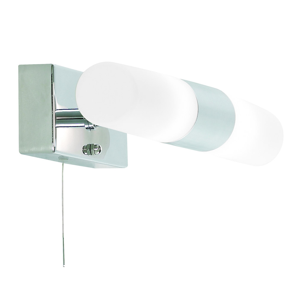 Aries Duo Light Bathroom Wall Light Large Image