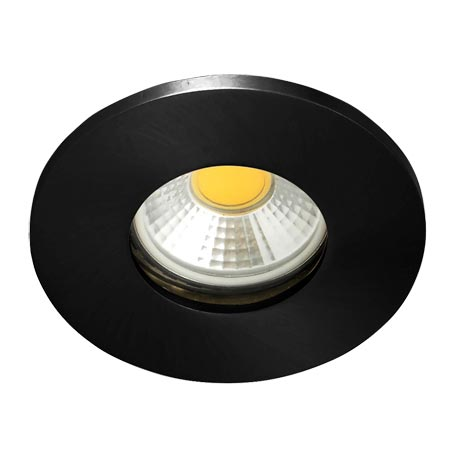Forum Electralite IP65 Black Chrome Downlight - ELA-27467-BCHR