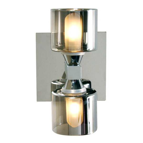 Forum - Taurus 2 Light Wall Fitting - SPA-20283-CHR Large Image