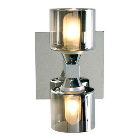 Forum - Taurus 2 Light Wall Fitting - SPA-20283-CHR