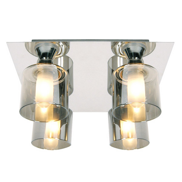 Forum - Taurus 4 Light Ceiling Fitting - SPA-20284-CHR Large Image