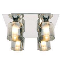 Forum - Taurus 4 Light Ceiling Fitting - SPA-20284-CHR Medium Image