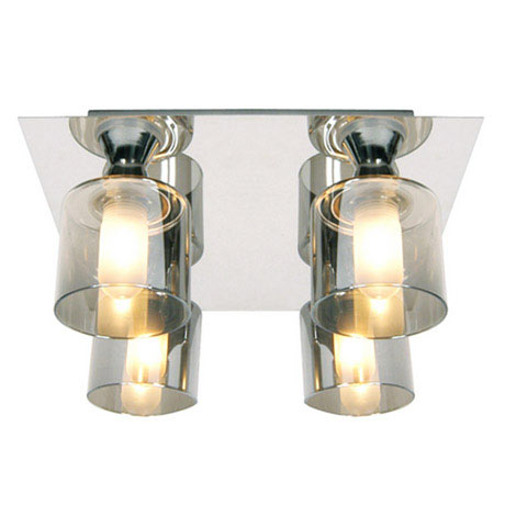 Forum - Taurus 4 Light Ceiling Fitting - SPA-20284-CHR