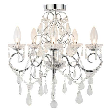 Vela IP44 Rated Bathroom Chandelier (SPA-19713-CHR)