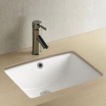 Fresco Rectangular Under Counter Basin - 470 x 345mm Medium Image
