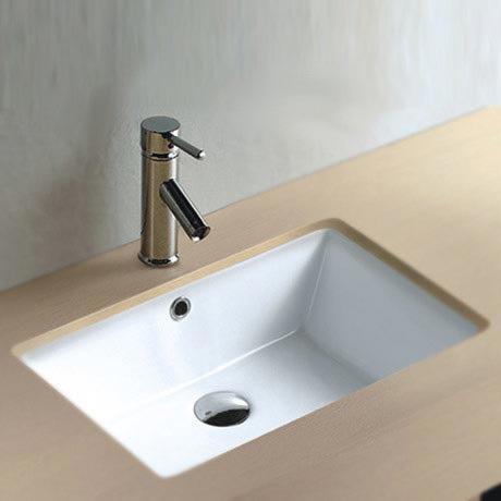 Fresco Rectangular Under Counter Basin 0TH - 530 x 355mm