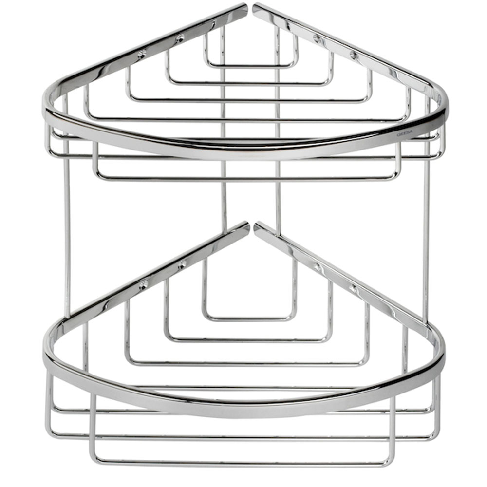 Coram - Double Corner Shower Basket - G183-697 Profile Large Image