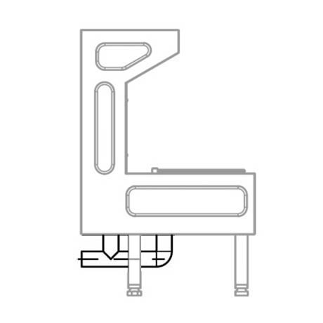 Franke G20051N Waste Plumbing Kit for Centinel Janitorial Unit