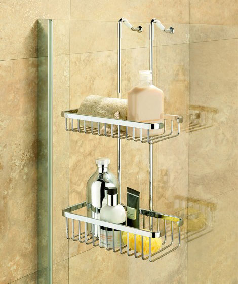 Coram - Hanging Double Shower Basket - G253-000 Large Image