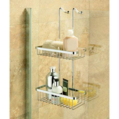 Coram - Hanging Double Shower Basket - G253-000