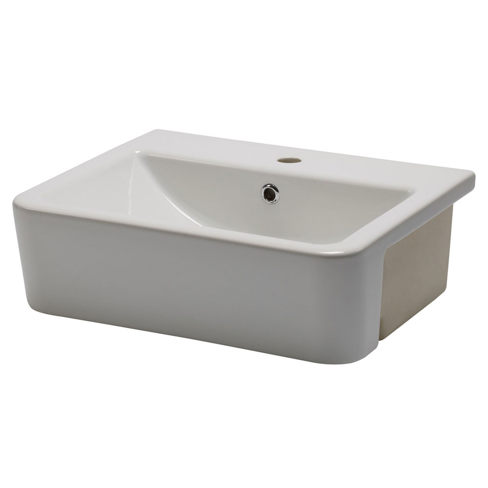 Roper Rhodes Geo 515mm Semi-Countertop Basin - G3SCBAS profile large image view 2