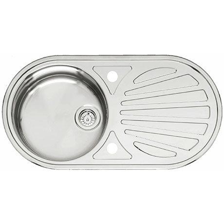 Reginox Galicia 1.0 Bowl Stainless Steel Inset Kitchen Sink