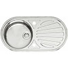 Reginox Galicia 1.0 Bowl Stainless Steel Inset Kitchen Sink profile small image view 1