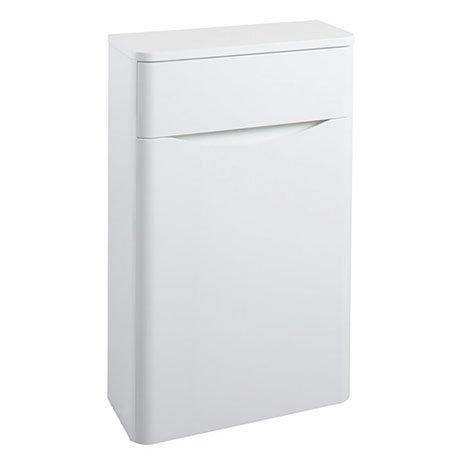 Bali White Gloss 500mm WC Unit - GB500WC