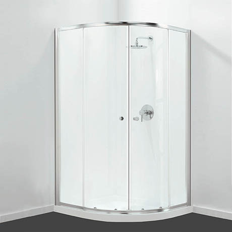 Coram GB Quadrant Shower Enclosure 800 x 800mm - GBQD280CUC