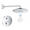 Grohe Grohtherm SmartConnect Round Shower Set profile small image view 1