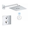 Grohe Grohtherm SmartConnect Square Shower Set profile small image view 1