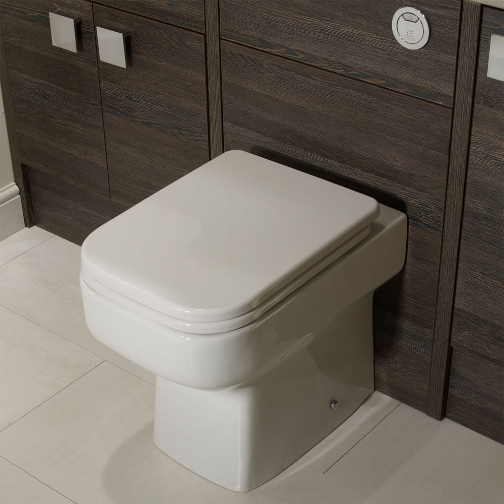 Roper Rhodes Geo Back to Wall WC Pan & Soft Close Seat Profile Large Image