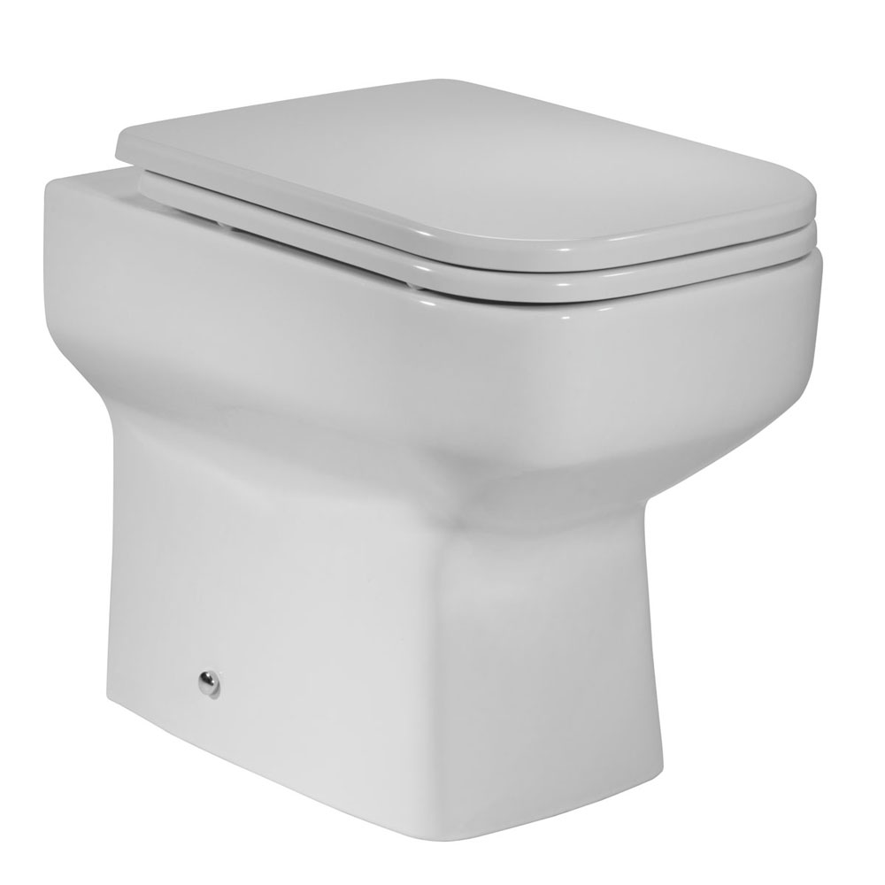 Roper Rhodes Geo Back to Wall WC Pan & Soft Close Seat profile large image view 1