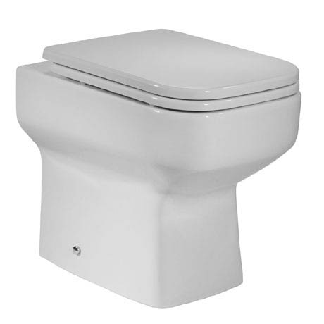 Roper Rhodes Geo Back to Wall WC Pan & Soft Close Seat