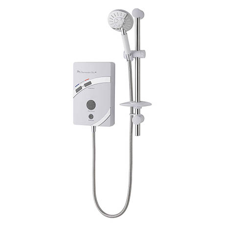 MX Thermostatic Plus QI 8.5kW Electric Shower - GC1