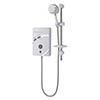 MX Thermostatic Plus QI 10.5kW Electric Shower - GC3 profile small image view 1