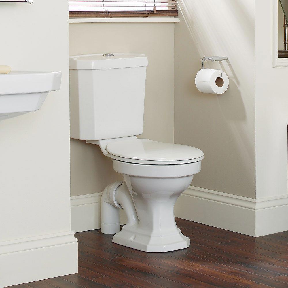 Heritage Granley Deco 4-Piece Traditional Bathroom Suite profile large image view 2