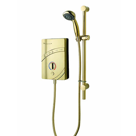 MX Inspiration Gold QI 8.5kW Electric Shower - GD4