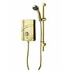 MX Inspiration Gold QI 9.5kW Electric Shower - GD5 profile small image view 1
