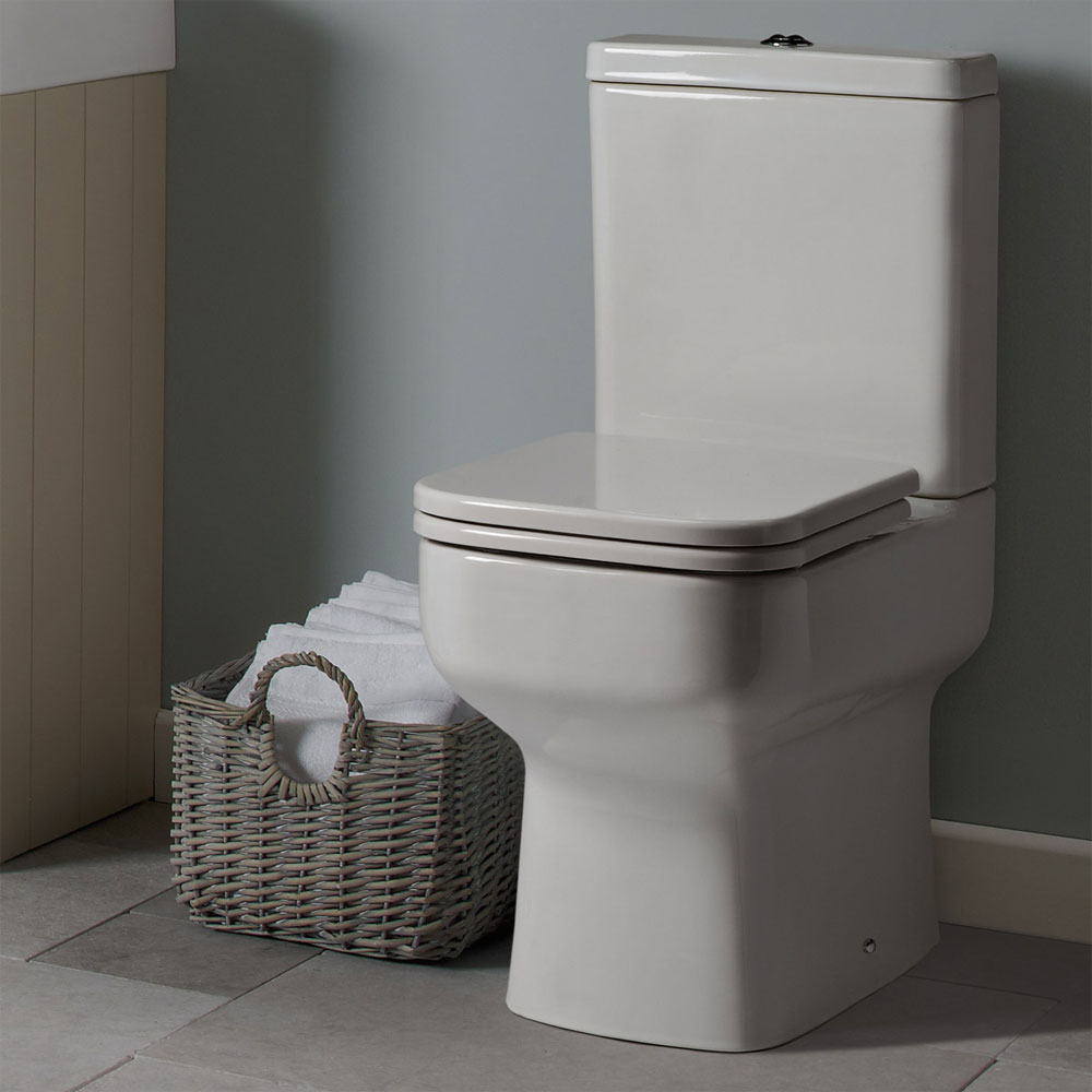 Roper Rhodes Geo Close Coupled WC, Cistern & Soft Close Seat profile large image view 3