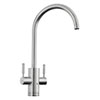 Rangemaster Geo Trend 4-in-1 Instant Boiling Hot Water Tap - Brushed Finish profile small image view 1