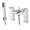 Glacier Waterfall Bath Shower Mixer with Shower Kit profile small image view 1