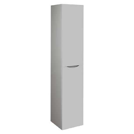 Bauhaus Glide II Wall Hung Tower Unit - Storm Grey - GL3516FSG+