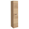 Crosswater Glide II Wall Hung Tower Unit - Windsor Oak - GL3516FWO+ profile small image view 1