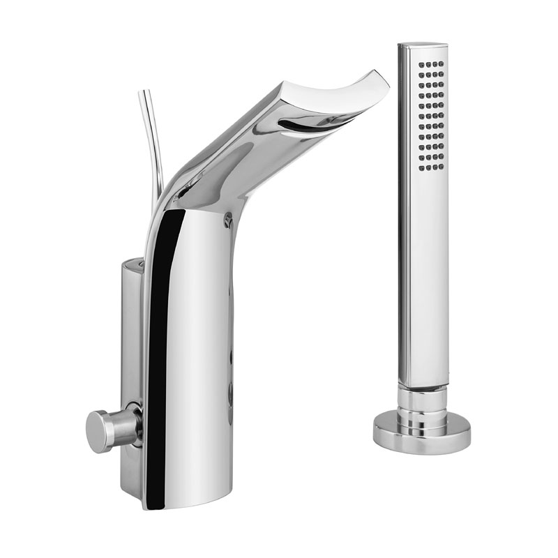 Crosswater - Glide Monobloc Bath Shower Mixer with Kit - GL410DC Large Image