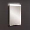Crosswater Glide II Ambient Lit Illuminated Mirror - GL5080 profile small image view 1