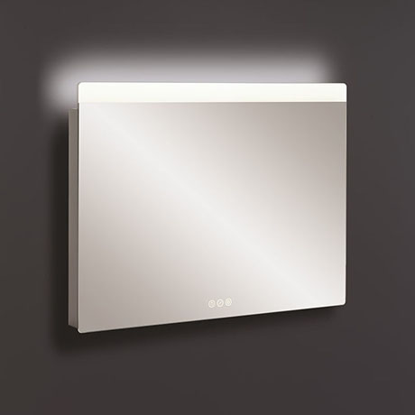 Crosswater Glide II 800 x 600mm Ambient Lit Illuminated Mirror - GL6080